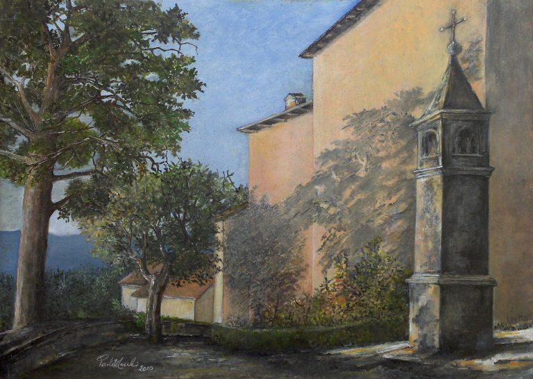 Castelluccio, piazza della Chiesa